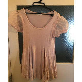 スナイデル(snidel)のsnidelピンクTシャツ(Tシャツ(半袖/袖なし))