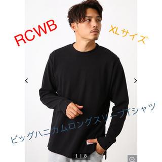 ロデオクラウンズワイドボウル(RODEO CROWNS WIDE BOWL)のタイムセール!新品タグ付♡ RCWB ロデオクラウンズ  ロンT ◡̈♥︎(Tシャツ/カットソー(七分/長袖))