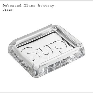 シュプリーム 灰皿 Debossed Glass Ashtray