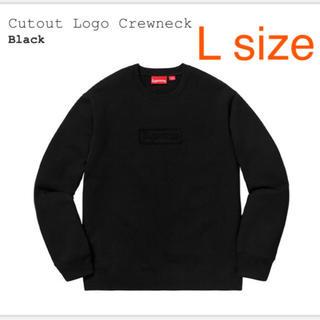 シュプリーム(Supreme)のSupreme Cutout Logo Crewneck(スウェット)