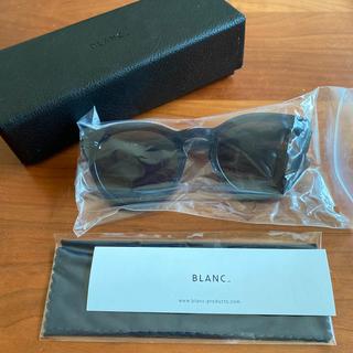 ビューティアンドユースユナイテッドアローズ(BEAUTY&YOUTH UNITED ARROWS)の新品 BLANC.. blanc サングラス ブランク B0007(サングラス/メガネ)
