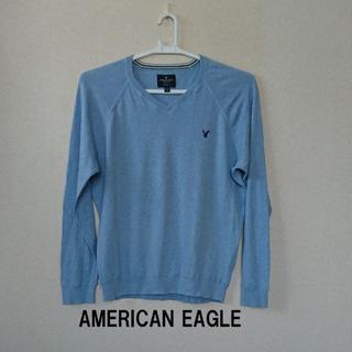 アメリカンイーグル(American Eagle)の★格安 AMERICAN EAGLE(アメリカンイーグル)カットソー メンズ★(Tシャツ/カットソー(七分/長袖))
