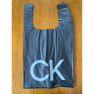 カルバンクライン(Calvin Klein)の【新品】CK (Calvinklein)PUエコバッグ(訳あり)(エコバッグ)