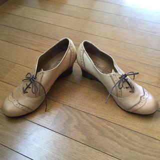 アシナガオジサン(あしながおじさん)のヒール 革靴(ローファー/革靴)