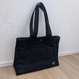 ポーター(PORTER)の吉田カバン PORTER TANGO BLACK TOTE BAG(L)(トートバッグ)