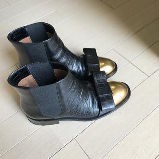 マルニ(Marni)のMARNI サイドコアブーツ(ブーツ)