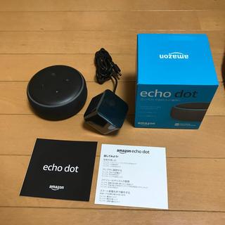 エコー(ECHO)のAmazon Ecoh dot アレクサ 第三世代 黒(スピーカー)
