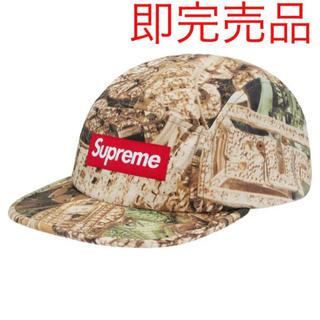 シュプリーム(Supreme)のSupreme Bling Camp Cap green 20SS(キャップ)