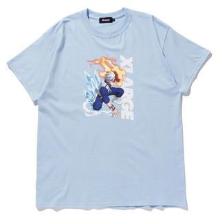 エクストララージ(XLARGE)のXLARGE×My Hero Academia TEE TODOROKI(Tシャツ/カットソー(半袖/袖なし))