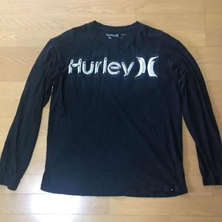 ハーレー(Hurley)の専用です。ハーレー Hurley ロンT 黒 L サーフィン(Tシャツ/カットソー(七分/長袖))