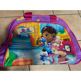 ディズニー(Disney)のドックはおもちゃドクター ボストンバッグ(通園バッグ)