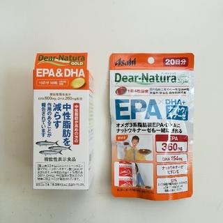 アサヒ(アサヒ)のディアナチュラ【ゴールドEPA&DHA】【EPA+DHA+ナットウキナーゼ】(その他)