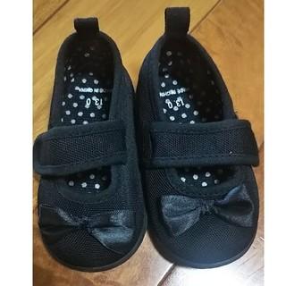 ほぼ未使用!フォーマルシューズ 黒靴 女の子★13cm(フォーマルシューズ)