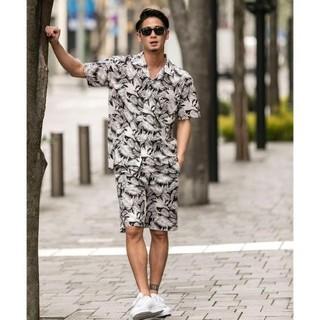 アトリエサブ(ATELIER SAB)のADMIX ATELIER SAB MEN メンズ半袖シャツ&短パンセット 新品(シャツ)