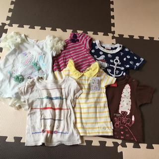 フタフタ(futafuta)の女の子 半袖Tシャツまとめ売り(Tシャツ)