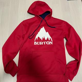 バートン(BURTON)の美品 BURTON 撥水パーカー sサイズ(ウエア/装備)