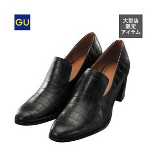ジーユー(GU)の新品◇ヒールローファー/L(ローファー/革靴)