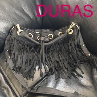 デュラス(DURAS)のDURAS❤2Weyフリンジバッグ❤(ショルダーバッグ)