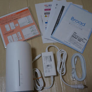 Speed Wi-Fi HOME L02(その他)