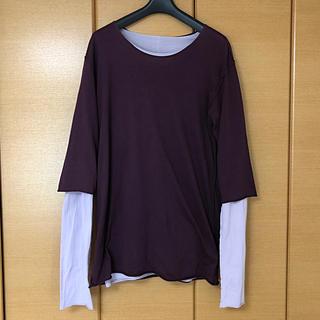 アタッチメント(ATTACHIMENT)のATTACHMENT アタッチメント ダブルフェイスレイヤードカットソー(Tシャツ/カットソー(七分/長袖))