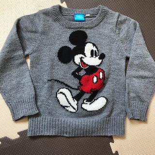 ディズニー(Disney)のディズニー ミッキー 110cm ニット(ニット)