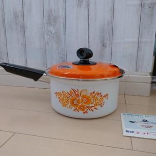 ゾウジルシ(象印)の象印 ホーロー片手鍋(鍋/フライパン)