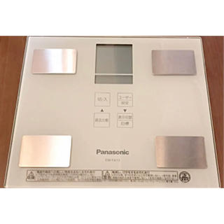 パナソニック(Panasonic)のPanasonic 体組成計 EW-FA13 ホワイト(体重計/体脂肪計)