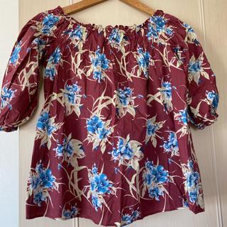 マウジー(moussy)のマウジー ♡フラワーブラウス オフショル(シャツ/ブラウス(半袖/袖なし))