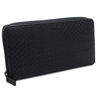 カルバンクライン(Calvin Klein)のCALVIN KLEIN RFIDレザー ラウンドファスナー ブラック メンズ(財布)
