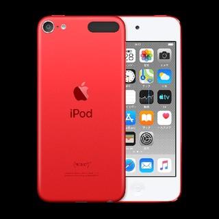 アイポッドタッチ(iPod touch)の【はなび。様専用】iPodtouch  レッド(ポータブルプレーヤー)
