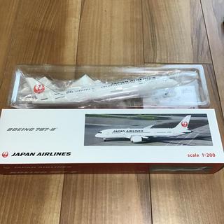 ジャル(ニホンコウクウ)(JAL(日本航空))のBOEING787-8 scale1:200(模型/プラモデル)