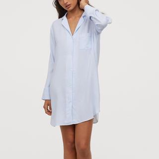 エイチアンドエム(H&M)のシャツワンピ パジャマ(ルームウェア)
