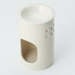 ムジルシリョウヒン(MUJI (無印良品))の磁器アロマポット(アロマポット/アロマランプ/芳香器)