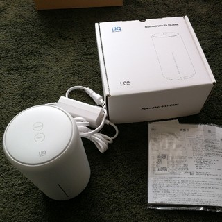 speed wifi home L02 huawei  美品(PC周辺機器)