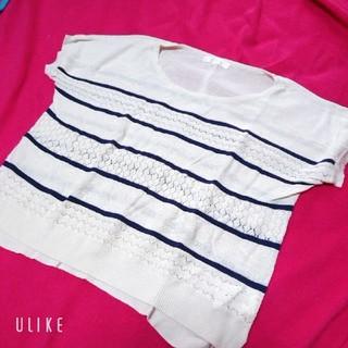 グローブ(grove)のニット Tシャツ(Tシャツ/カットソー(半袖/袖なし))