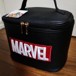 マーベル(MARVEL)の【MARVEL】マーベル バニティケース ブラック(メイクボックス)
