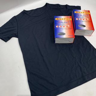 オンヨネ(ONYONE)の着るエアコン 快適Tシャツ フィットネス アンダーウエア 運動着 汗ばむ季節に(アンダーシャツ/防寒インナー)