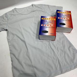 オンヨネ(ONYONE)の着るエアコン 快適Tシャツ フィットネス ジム 汗ばむ季節に アンダーウエア(ヨガ)