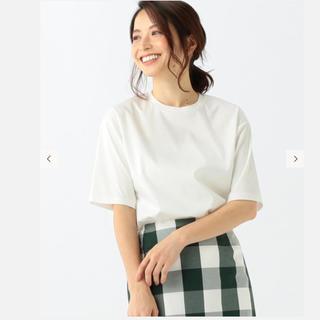 デミルクスビームス(Demi-Luxe BEAMS)のデミルクスビームス スムースハーフスリーブプルオーバー(Tシャツ(半袖/袖なし))
