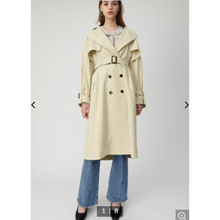moussy - MOUSSY OVER SILHOUETTE トレンチコート