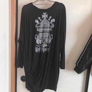 ヴィヴィアンウエストウッド(Vivienne Westwood)のヴィヴィアンウエストウッド ロングTシャツ ワンピース(Tシャツ(長袖/七分))