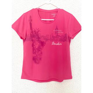 DANSKIN☆美品☆エクササイズTシャツ(ヨガ)