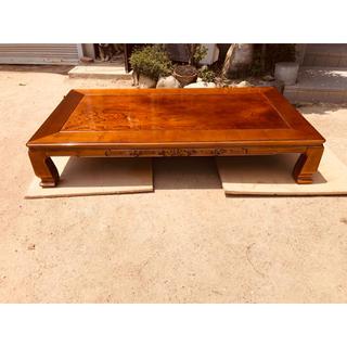 和風座卓けやき180日本製(ローテーブル)