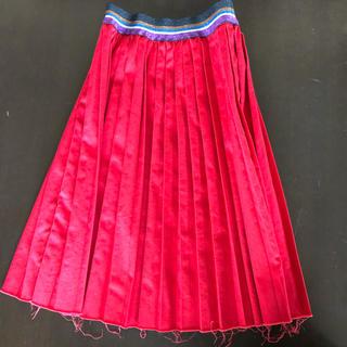 ゴートゥーハリウッド(GO TO HOLLYWOOD)のgotohollywood プリーツスカート 140(スカート)