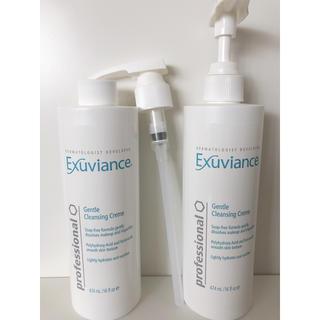 エクスビアンス(Exuviance)のエクスビアンス クレンジングクリーム サロンサイズ 新品+1回使用品(クレンジング/メイク落とし)