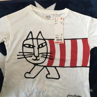 ユニクロ(UNIQLO)のリサラーソンキッズティシャツ値下します(Tシャツ/カットソー)