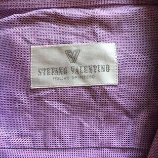 ステファノバレンチノ(STEFANO VALENTINO)のパステルカラーのワイシャツ(シャツ)