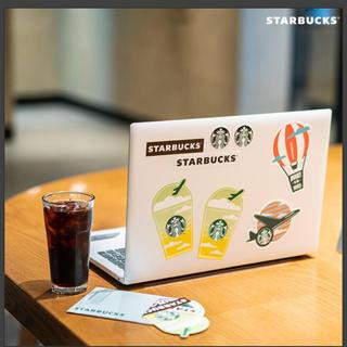 スターバックスコーヒー(Starbucks Coffee)のStarbucks ステッカー ポストカード 韓国(しおり/ステッカー)