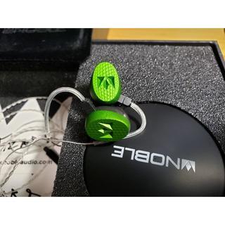 ノーブル(Noble)のNoble audio SAGE 銀メッキケーブル仕様(ヘッドフォン/イヤフォン)
