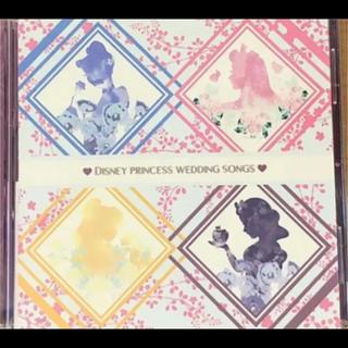 ディズニー(Disney)の★ディズニー ウエディングソングス CD(アニメ)